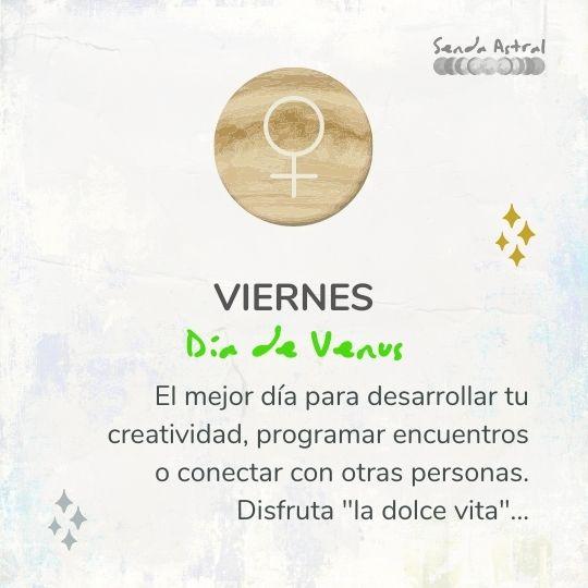 Viernes y Venus
